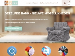 Soferia -sofas covers and ikea hoezen